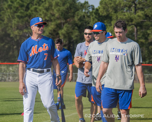 Bob Geren and spring training with the Mets by Alida's Photos