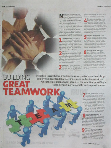 Building Great Teamwork by waichunko