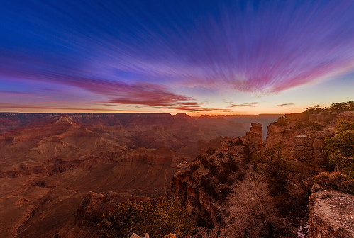 Dawn Over Yaki Point in Grand Canyon National Park