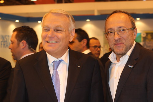 Jean-Marc Ayrault et Bertrand Morisset