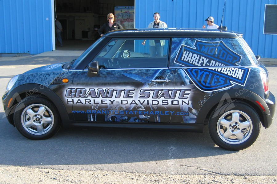Vehicle Wraps Graphics Vinyl Fleet Large Format Car Mini