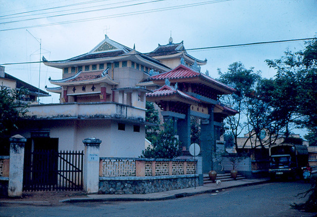 SAIGON 1967-69. Chùa Xá Lợi, góc Ngô Thời Nhiệm-Bà Huyện Thanh Quan