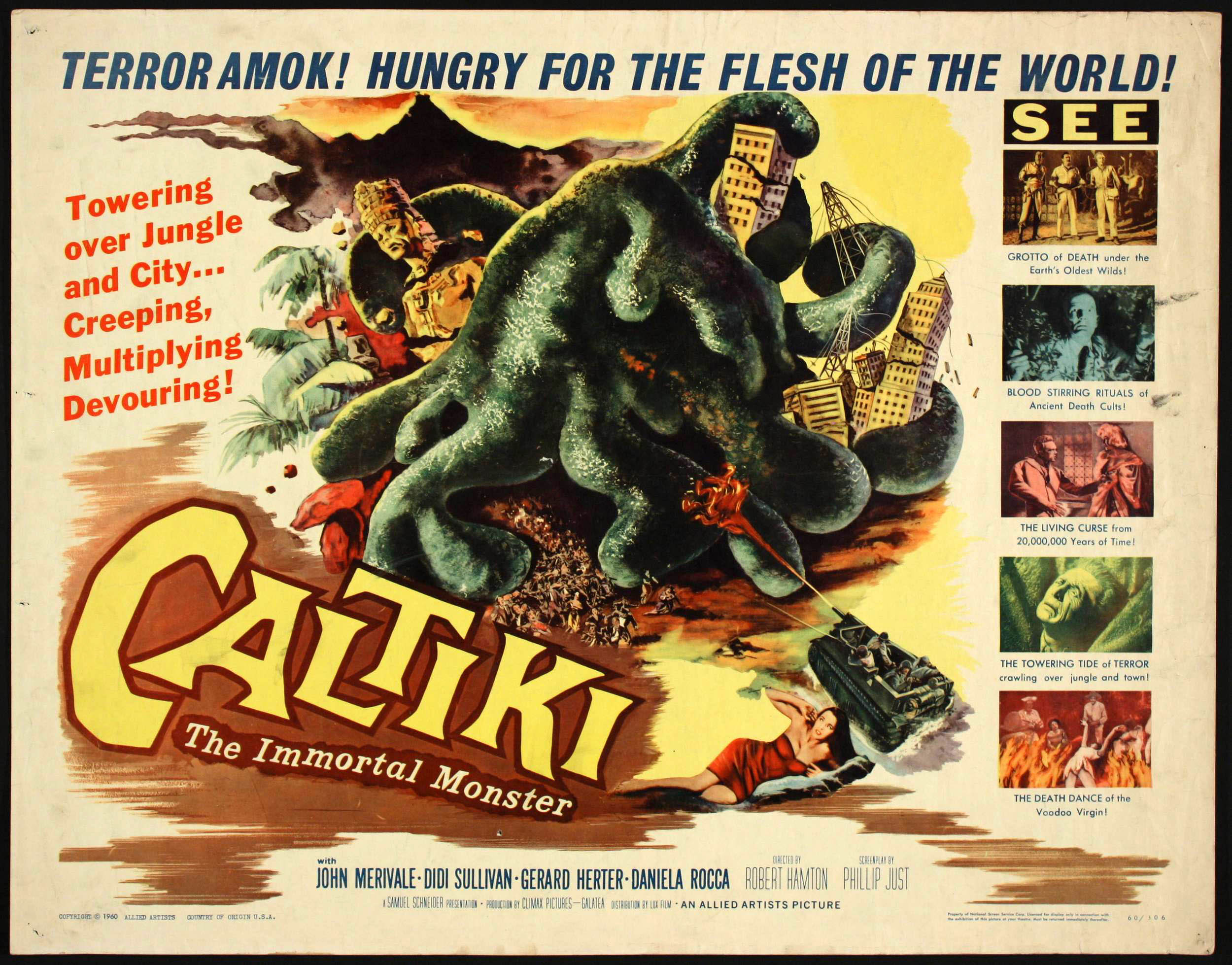 Caltiki, the Immortal Monster (1960)