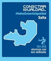 Provincia de Salta. Conectar Igualdad 4 AÑOS