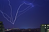 Upward lightning in London Ontario