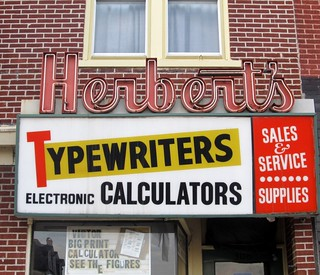 Herbert's Typewriters Electronic Calculators