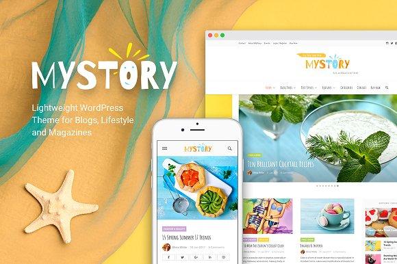 MyStory v1.0 - Blog & Magazine Theme