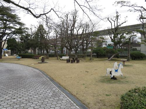 小倉競馬場の遊具広場