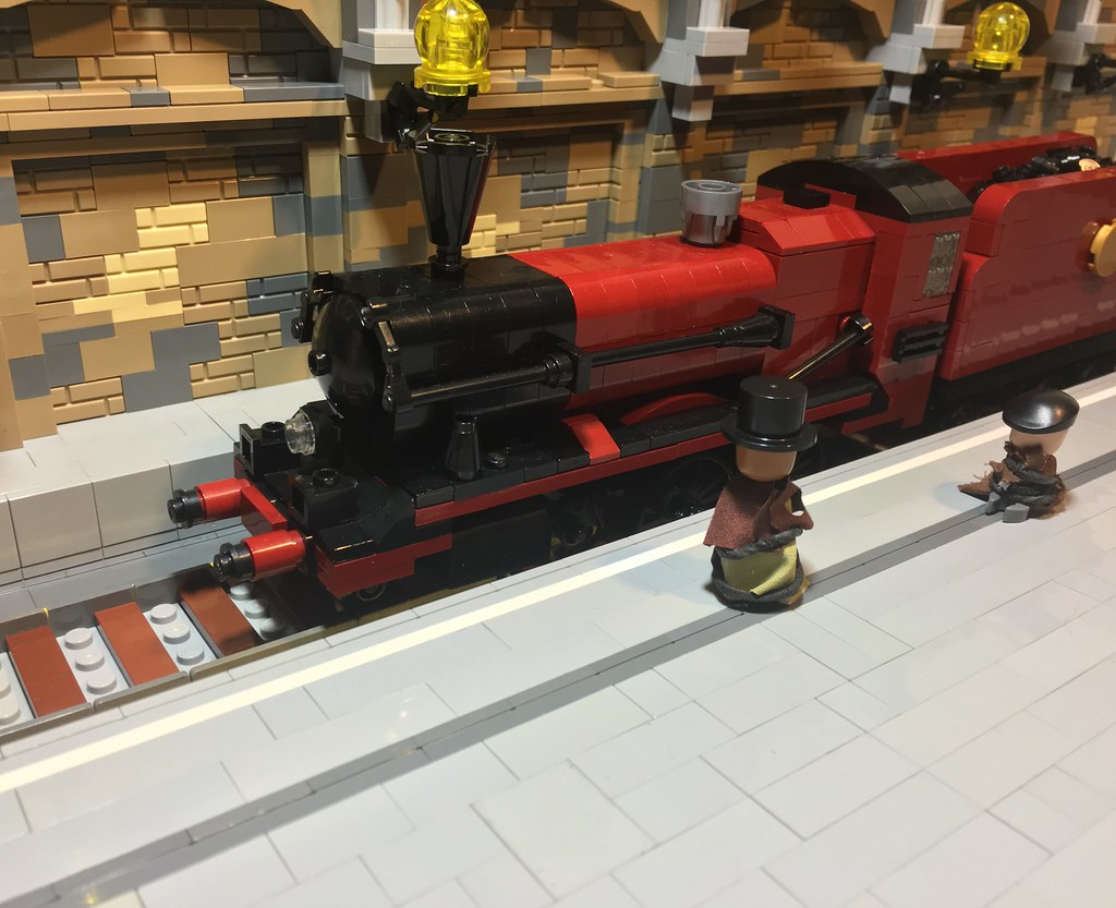 Platform 9 3/4 (custom built Lego model)