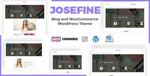 Josefine WordPress Theme free download