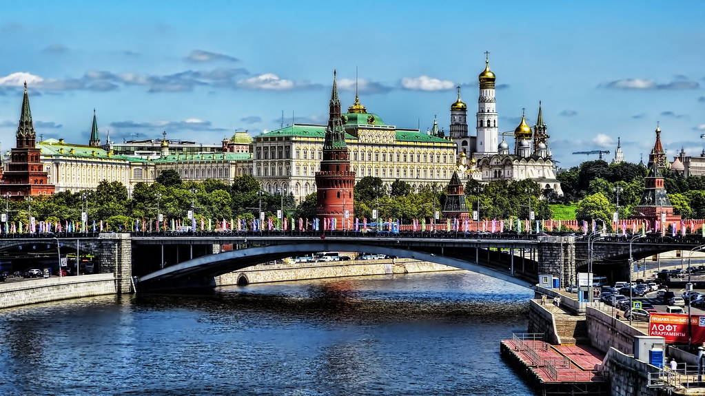 El Moscova y el Kremlin