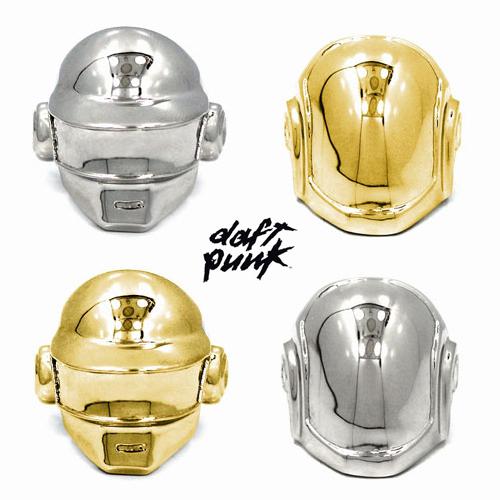 Daft Punk X HAN CHOLO –「傻瓜龐克」經典頭盔造型 戒指