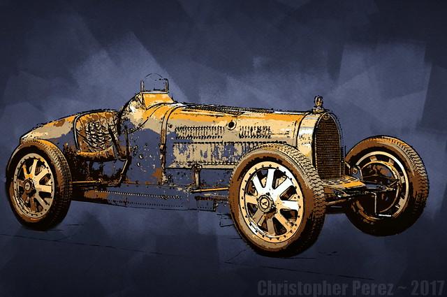 Bugatti ~ l'art et la voiture