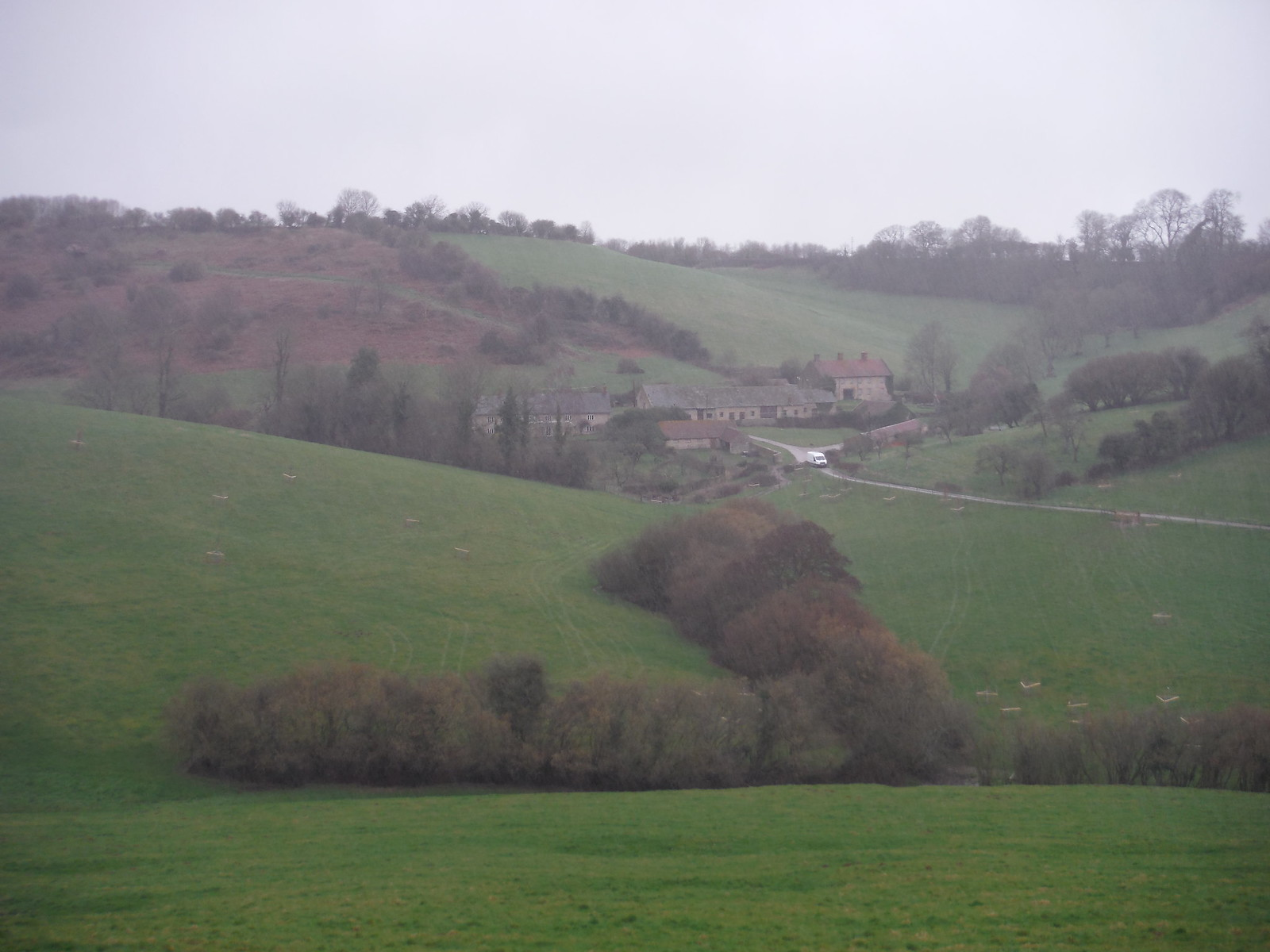 Green's Combe Farm SWC Walk 284 Bruton Circular (via Hauser & Wirth Somerset) or from Castle Cary