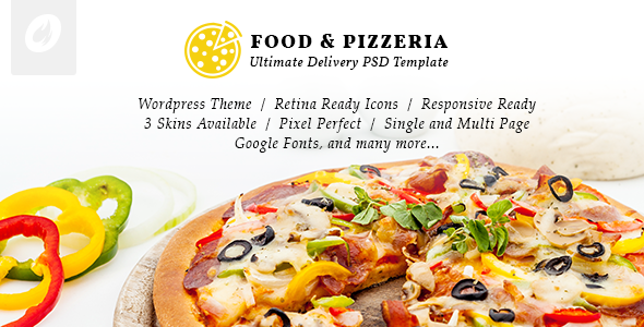 Food & Pizzeria v1.0.9 - Ultimate Delivery Theme