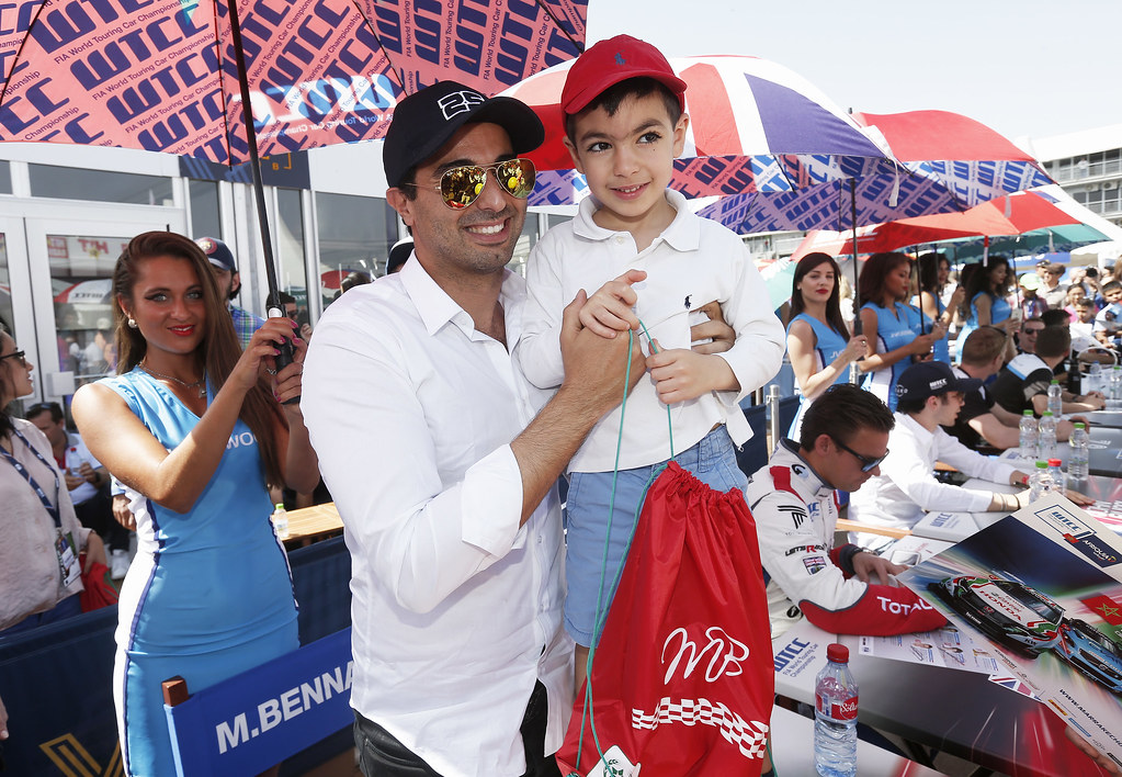 BENNANI Mehdi (mor) Citroen C-Elysee team Sébastien Loeb Racing ambiance portrait AUTOGRAPH SESSION AMBIANCE during the 2017 FIA WTCC World Touring Car Race of Morocco at Marrakech, from April 7 to 9 - Photo Jean Michel Le Meur / DPPI.