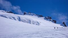 Przełęcz Coli Beca di Moncorve 3851m. Podejście na szczyt Gran Paradiso 3061m.