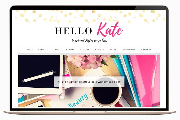 Kate v3.1 – WordPress Theme