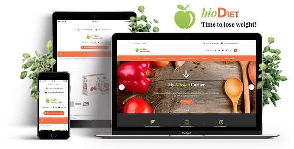 BioDiet WordPress Theme free download