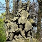 """Der Kampf / Schanzenstürmung"" im Berliner Tiergarten (2)"