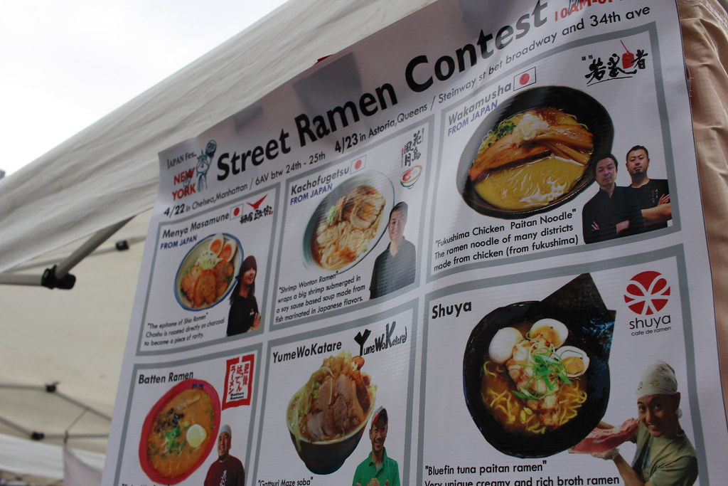 Ramen Contest & Japan Street Fes: Queens