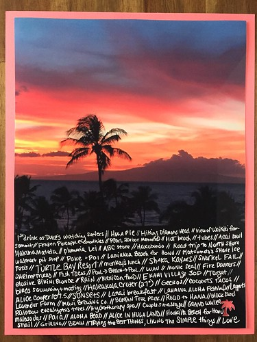 Hawaii layout | by thepapergoddess