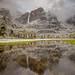 Yosemite Falls Storm Reflection by Jeffrey Sullivan