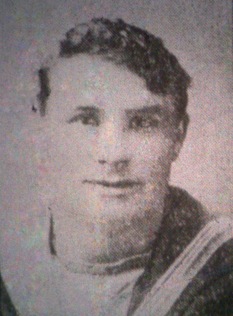Petty Officer Arthur Jarvis, Lowestoft, Killed in the blowing up of HMS Vanguard 1917
