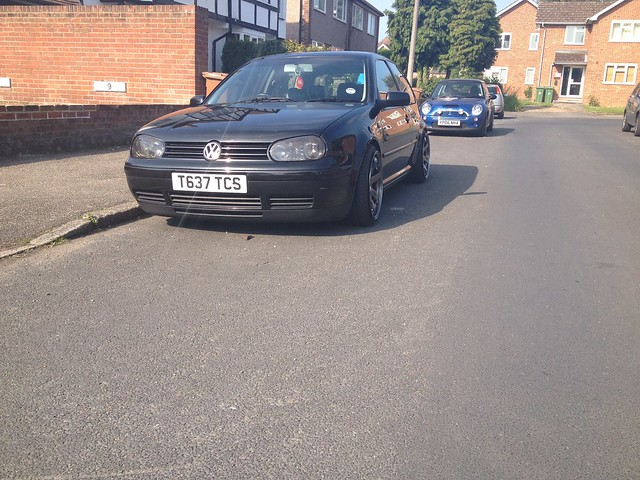 Just another mk4 golf among the 1000's 8967330710_ebbdc96534_z