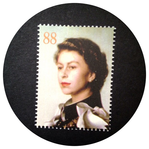 Day 7: Person A new set of stamps out at the moment for the queens 60th coronation. This is my favourite one of her but my set is so blurred #psjune #postagestamp #challenge #scavengerhunt #queen #coronation #stamp #person #royalty #royalfamily