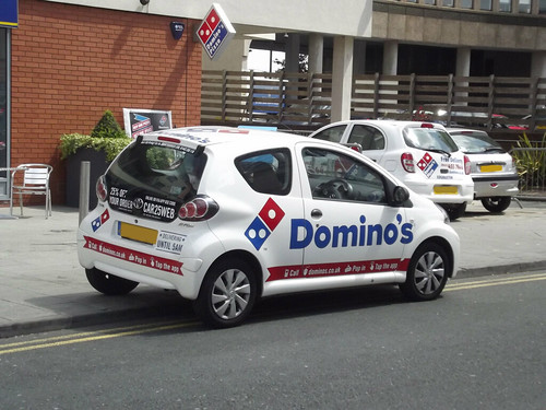 Domino's Pizza - Broadway Plaza - Francis Road, Ladywood - cars | by ell brown