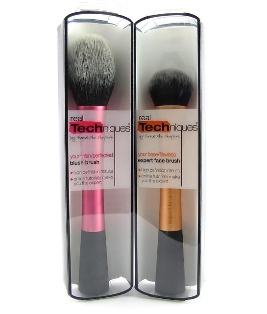 Real Techniques Expert Face Brush And Blush Brush Project Vanity