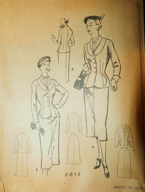 Vintage McCall's 8813 Suit Pattern