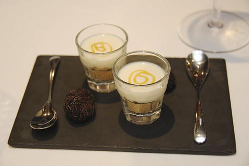 After dessert sorbet