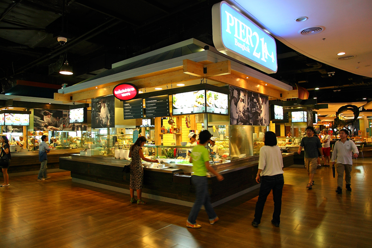 Pier 21 Food Court Terminal 21 Bangkok