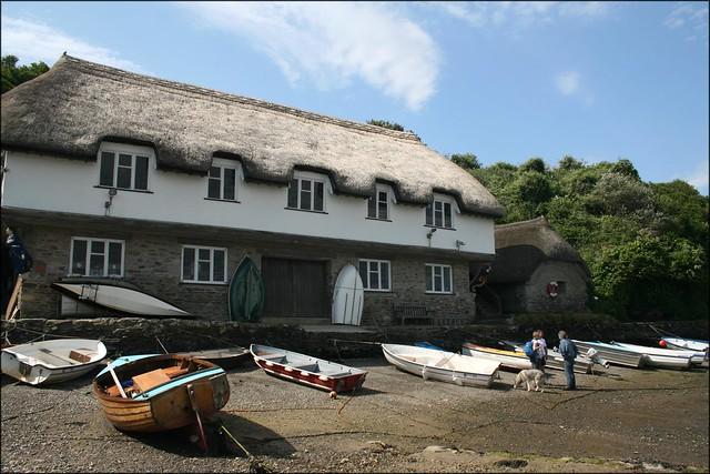 Bantham boat house
