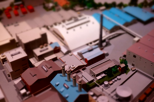 miniature of Ebisu beer factory town