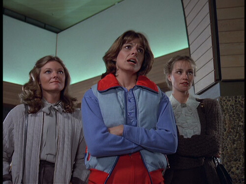 Jane Curtin, Susan St. James, and Jessica Lange