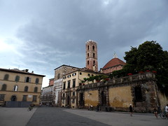 Storm Clouds Over Lucca