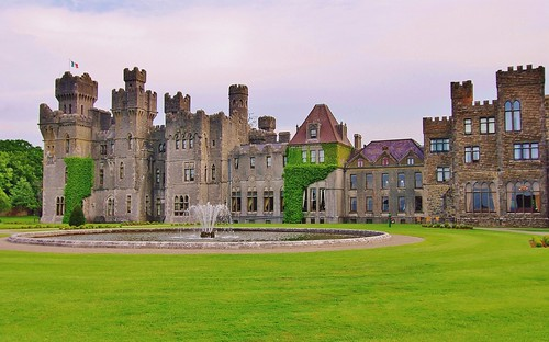 Ashford Castle on the Mayo/Galway Border in Ireland