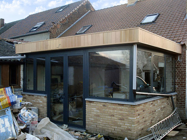 veranda toit plat flickr photo sharing. Black Bedroom Furniture Sets. Home Design Ideas