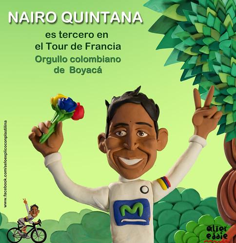 Grande Nairo Quintana by alter eddie