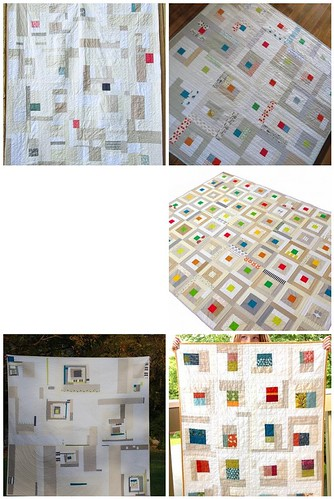 Improve Neutral Squares - MSP Mod Quilt Guild August Block Lotto