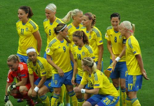 Sweden's team