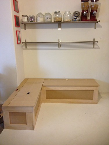 kitchen benches banquette with storage