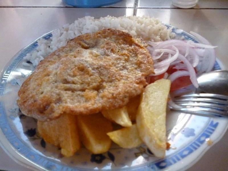 Milanesa pollo