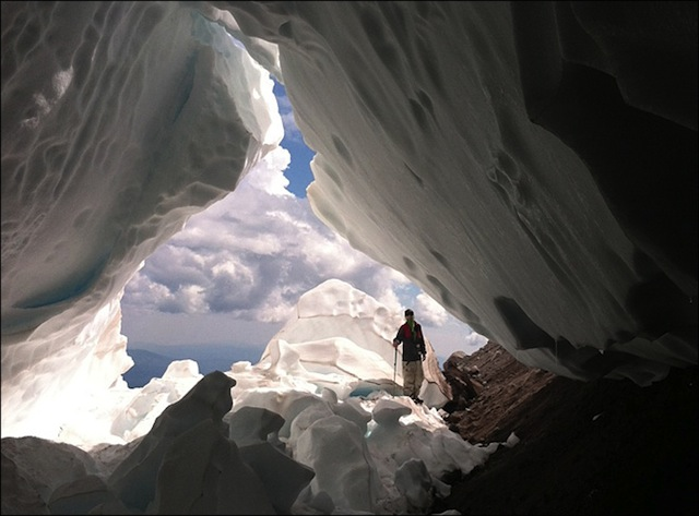 Mt. Hood Ice Tunnel