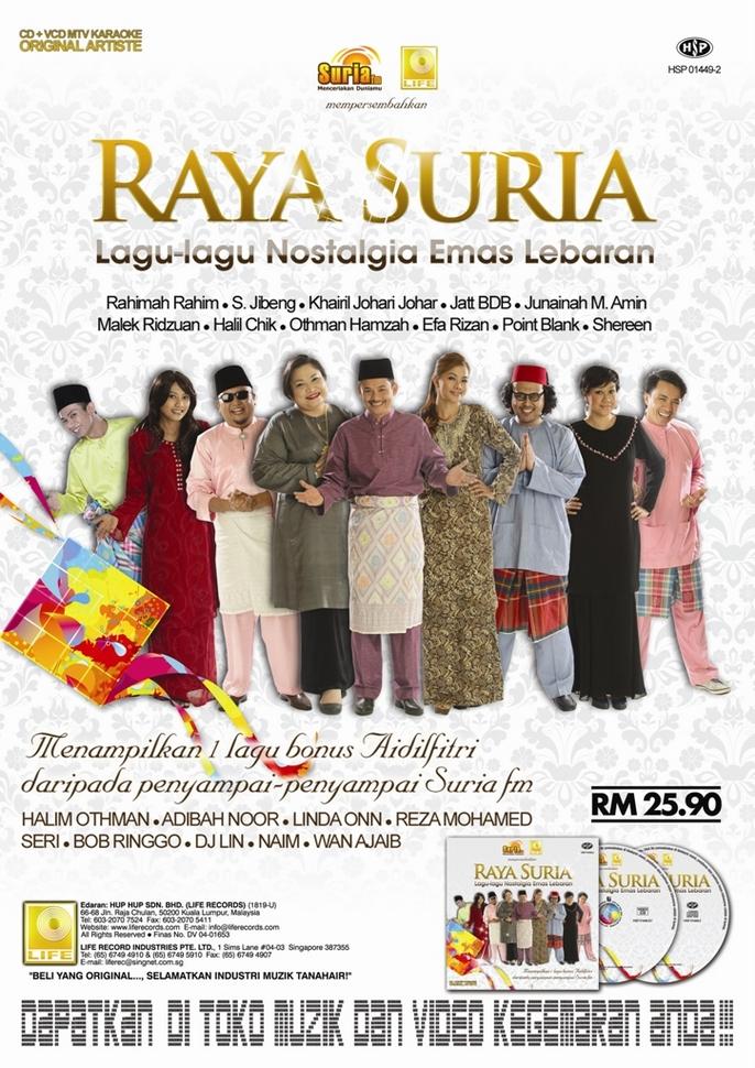 Poster album raya