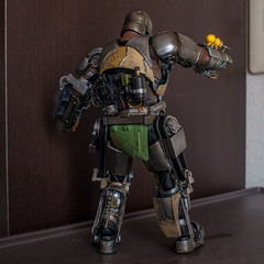 armour, machine, mecha, iron, person, action figure, toy,