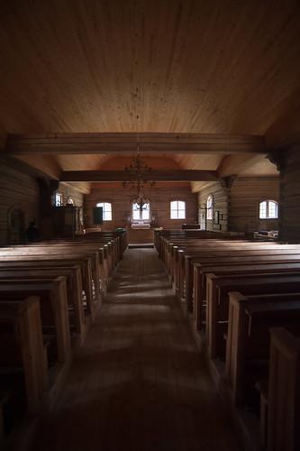 church wooden pihlajavesi